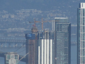 Iconic Bay Bridge now partially blocked by Luxury Designer Condos (Dahling)
